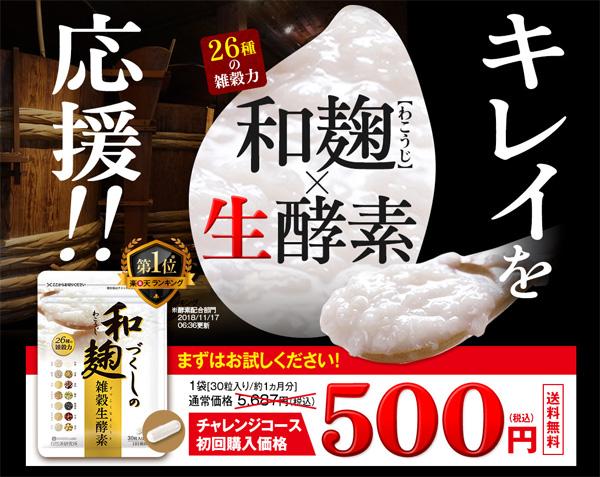 スルスル酵素 500円